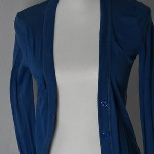 Philosophy Button Cardigan Small